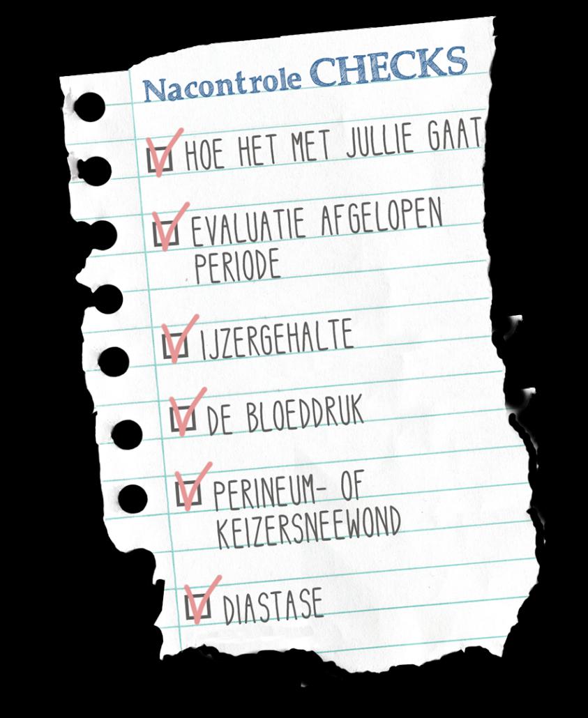 nacontrole kladpapier verloskundigenpraktijk Wereldkind Praktijk voor verloskunde en echoscopie